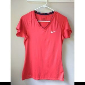 Nike Pro Dri-Fit Running Short Sleeve Shirt Size M